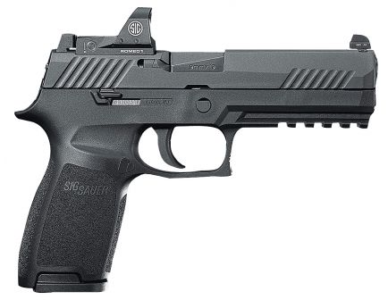 Sig Sauer P320 RX Full-Size 9mm Semi-Automatic Pistol, Stainless - 320F-9-BSS-RX-10