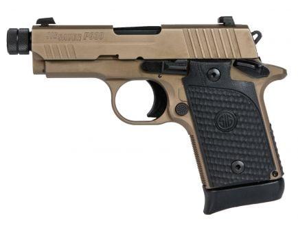 Sig Sauer P938 Emperor Scorpion Tb Micro-Compact 9mm Semi-Automatic Pistol, FDE PVD - 938-9-ESCPN-T-AMBI