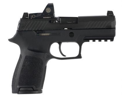 Sig Sauer P320 RX Compact 9mm Semi-Automatic Pistol, Blk - 320C-9-BSS-RX-10