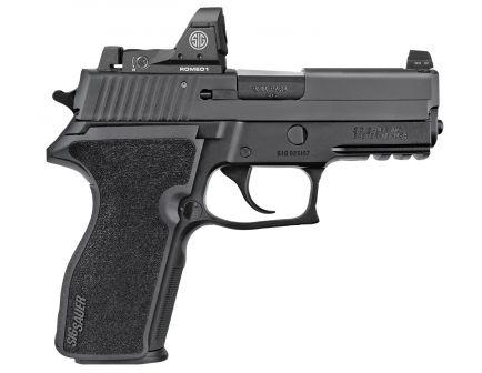 Sig Sauer P229 RX 9mm Semi-Automatic Pistol, Hardcoat Anodized Black - 229R-9-BSS-RX