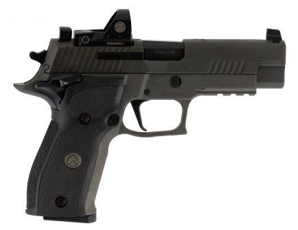 Sig Sauer P226 RX Full-Size 9mm Semi-Automatic Pistol, Legion Gray PVD - 226R-9-LEGION-SAO-RX