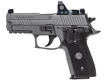 Sig Sauer P229 RX Compact 9mm Semi-Automatic Pistol, Legion Gray PVD - 229R-LEGION-RX
