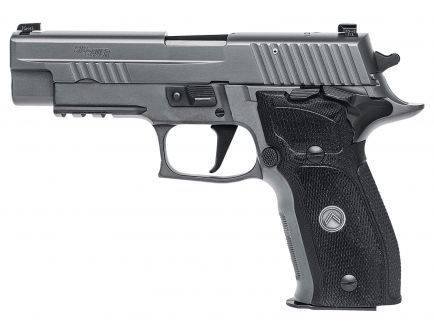 Sig Sauer P226 Full-Size 9mm Semi-Automatic Pistol, Legion Gray PVD - 226RM-9-LEGION-SAO
