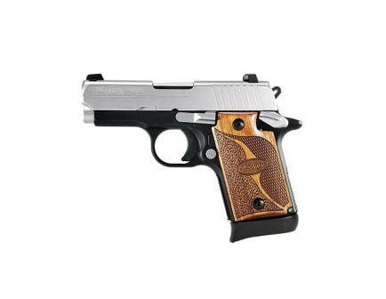 Sig Sauer P938 SAS Micro-Compact 9mm Semi-Automatic Pistol, Hardcoat Anodized Black - 938M-9-SAS-AMBI