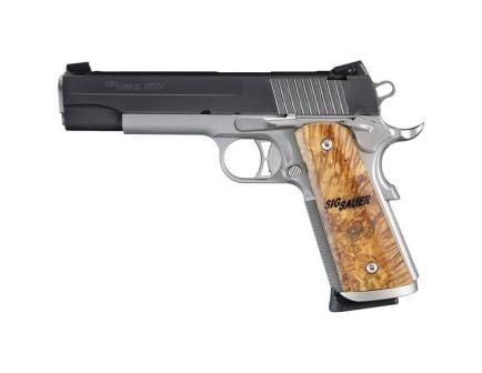 Sig Sauer 1911 STX Full-Size .45 ACP Semi-Automatic Pistol, Stainless - 1911M-45-STX