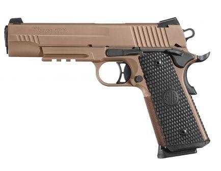 Sig Sauer 1911 Emperor Scorpion Full-Size .45 ACP Semi-Automatic Pistol, FDE PVD - 1911RM-45-ESCPN