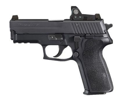 Sig Sauer P229 RX 9mm Semi-Automatic Pistol, Hardcoat Anodized Black - 229RM-9-BSS-RX