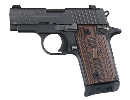 Sig Sauer P238 Select Micro-Compact .380 ACP Semi-Automatic Pistol, Hardcoat Anodized Black - 238-380-SEL