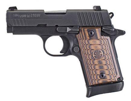 Sig Sauer P938 Select Micro-Compact 9mm Semi-Automatic Pistol, Hardcoat Anodized Black - 938-9-SEL-AMBI