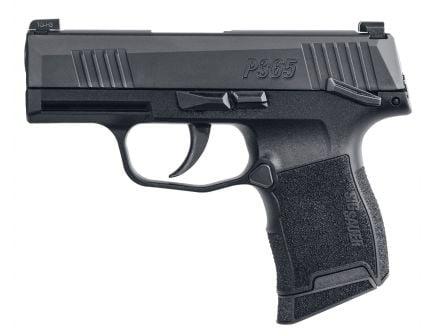 Sig Sauer P365 Nitron Micro-Compact 9mm Semi-Automatic Pistol, Blk - 365-9-BXR3-MS-MA