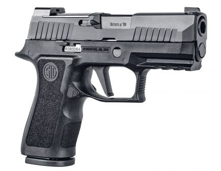 Sig Sauer P320 X-Compact 9mm Semi-Automatic Pistol, Blk - 320XC-9-BXR3-10