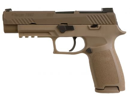 Sig Sauer P320-M17 9mm Semi-Automatic Pistol, Coyote PVD - 320F-9-M17-10