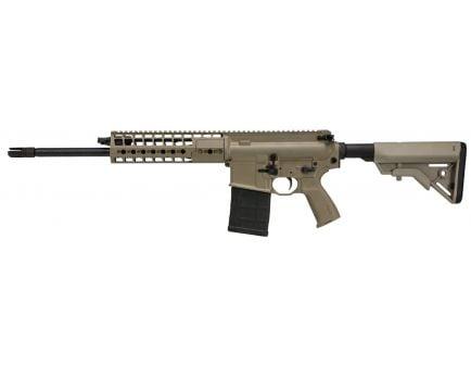 Sig Sauer 716G2 Patrol .308 Win/7.62 Semi-Automatic AR-10 Rifle, FDE Cerakote - R716G2-16B-P-FDE