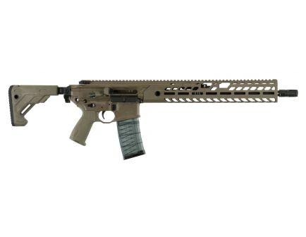 Sig Sauer MCX Virtus Patrol .300 Blackout Semi-Automatic AR-15 Rifle, FDE - RMCX-300B-16B-TAP-P-FDE