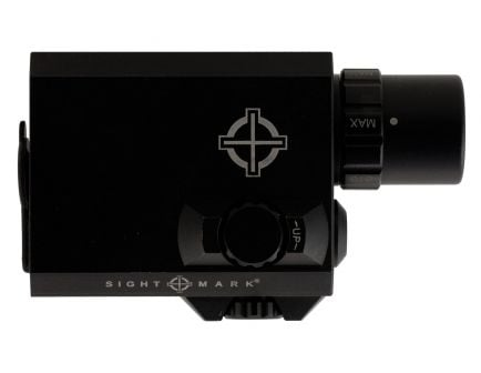 Sightmark LoPro Mini 300/150/5 lm LED Combo Flashlight and Laser Sight, Black - SM25012