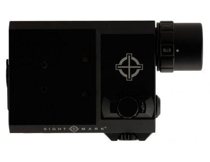 Sightmark LoPro 300/150/5 lm LED Combo Flashlight and Laser Sight, Black - SM25013