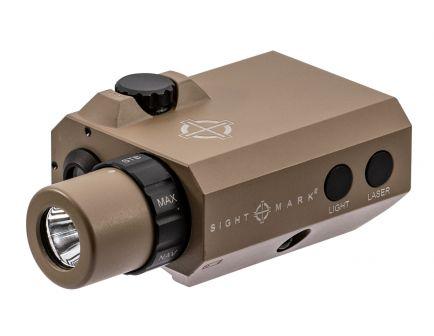 Sightmark LoPro Mini 300/150/5 lm LED Combo Flashlight and Laser Sight, Flat Dark Earth - SM25012DE