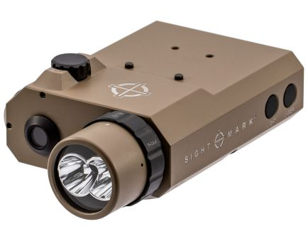 Sightmark LoPro 300/150/5 lm LED Combo Flashlight and Laser Sight, Flat Dark Earth - SM25013DE