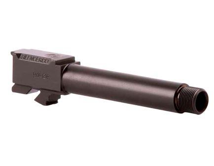 """Silencerco 9mm 4.48"""" Threaded Barrel, Black Nitride - AC864"""