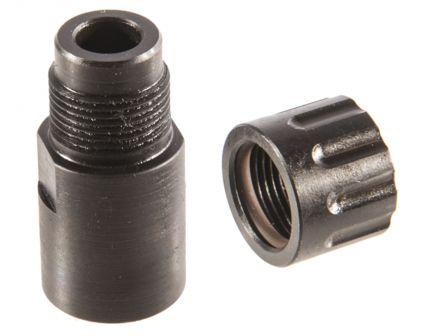 Silencerco 1/2-28 Delta Adapter for S&W M&P 22 Compact Rimfire Pistol, Black - AC875