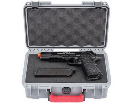 SKB Cases Pro Series Pistol Case, Smooth Gray - 3I-1006-3G-PS