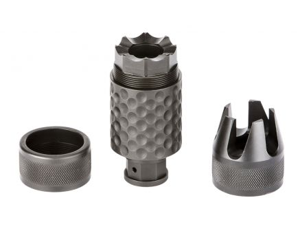 Spikes Tactical Barking Spider 2 1/2-28 Muzzle Brake, 5.56, Black Nitride - SAKB0100