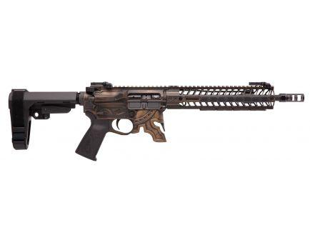 Spikes Tactical Rare Breed Spartan 5.56 Semi-Automatic AR Pistol, Cerakote Bronze - STP5610-M1R