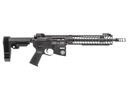 Spikes Tactical Rare Breed Crusader 5.56 Semi-Automatic AR Pistol, Hardcoat Anodized Black/Black Phosphate - STP5620-M1R