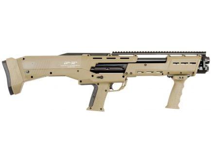 "Standard MFG 18.875"" 12 Gauge Shotgun 3"" Pump Action, Flat Dark Earth - DP-12FDE"