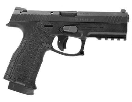 Steyr Arm L9-A2 MF 9x19mm Semi-Automatic Mechanically Locked Recoil-Operated Pistol, Blk - 78.121.2HO