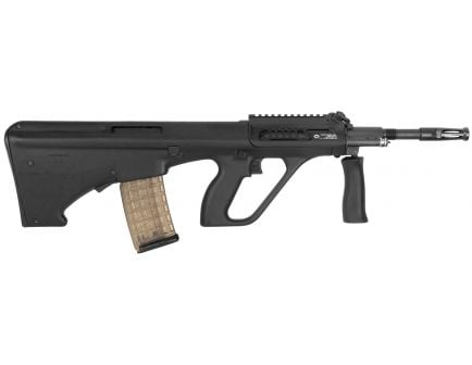 Steyr Arm AUG A3 M1 with Short Rail .223 Rem/5.56 Semi-Automatic Rifle w/ Short 11-Slot Rail, Hard Eloxal Coated - AUGM1BLKS