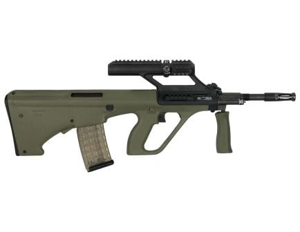 Steyr Arm AUG A3 M1 with 1.5x Optic .223 Rem/5.56 Semi-Automatic Rifle, OD Green - AUGM1GRNO