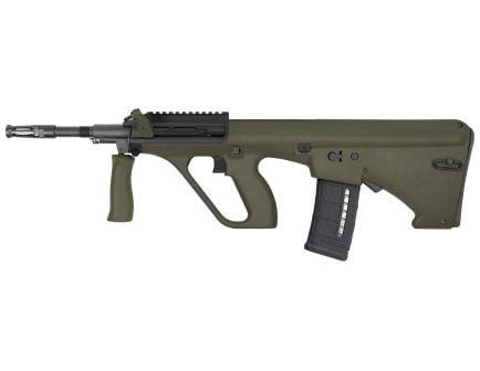 Steyr Arm AUG A3 M1 NATO with Short Rail .223 Rem/5.56 Semi-Automatic Rifle w/ Short 11-Slot Rail, OD Green - AUGM1GRNNATOS