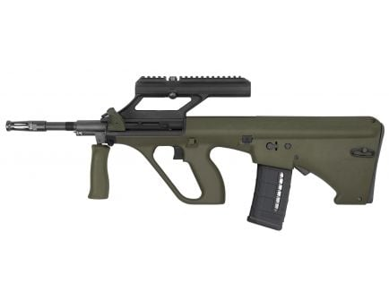 Steyr Arm AUG A3 M1 NATO with 1.5x Optic .223 Rem/5.56 Semi-Automatic Rifle, OD Green - AUGM1GRNNATOO