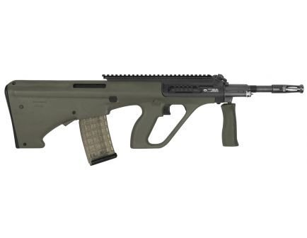 Steyr Arm AUG A3 M1 with Extended Rail .223 Rem/5.56 Semi-Automatic Rifle w/ Extended Rail, OD Green - AUGM1GRNH2