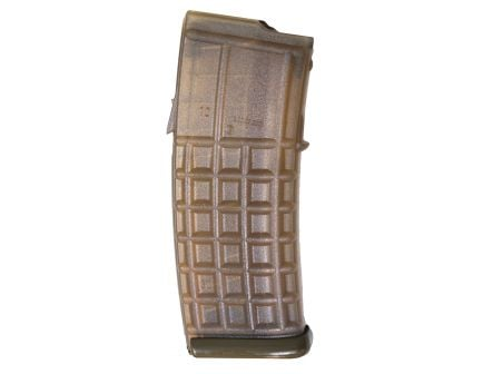 Steyr Arm 30 Round .223 Rem Detachable Magazine, Clear Body/Green Base - 1200050500