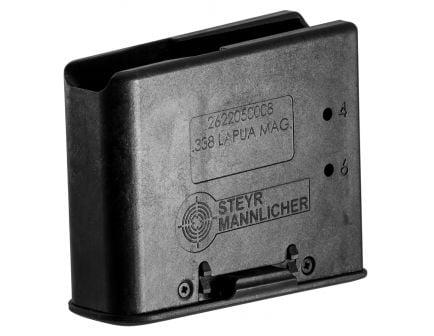 Steyr Arm 6 Round .338 Lapua Magazine, Black - 2622050600