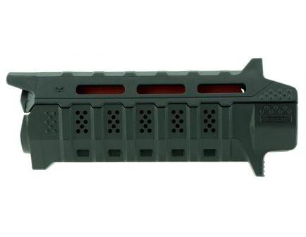 Strike Industries Viper AR-15 Carbine Length Handguard, Black, Red Inserts - VIPERHGCBK
