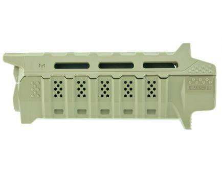 Strike Industries Viper AR-15 Carbine Length Handguard, Flat Dark Earth w/ Black Heat Shield - VIPERHGCFD