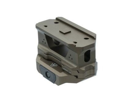 Strike Industries AR-15 6061 T6 Aluminum Riser Mount, Flat Dark Earth - T1-Riser-FDE