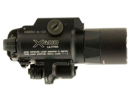 Surefire-Laser Product 1000 lm LED Weapon Light w/ Green Laser for Handgun/Long Guns, Black - X400U-A-GN