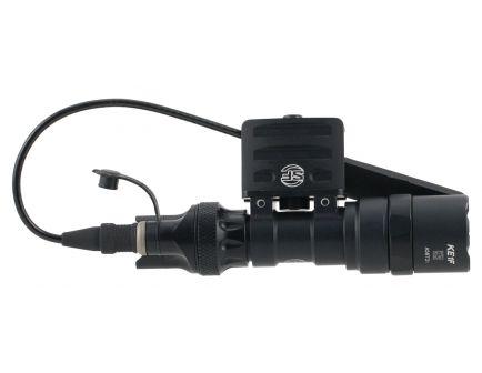 Surefire-Laser Product 500 lm LED Weapon Light w/ DS07 Switch Assembly and RM45 Off Set Mount, Black - M312C-BK