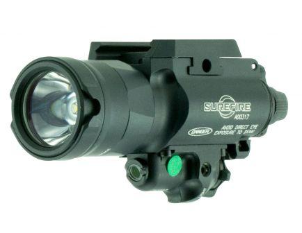Surefire-Laser Product 1000 lm LED Weapon Light w/ Green Laser, Black - X400UH-A-GN