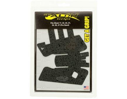 Talon Grips Rubber Pistol Grip for Glock 17/22/24/31/34/35/37 Gen 3, Black - 103R