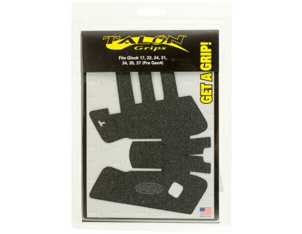 Talon Grips Granulate Pistol Grip for Glock 17/22/24/31/34/35/37 Gen 3, Black - 103G
