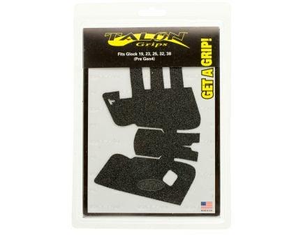 Talon Grips Granulate Pistol Grip for Glock 19/23/25/32/38 Gen 3, Black - 104G