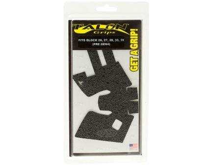 Talon Grips Rubber Pistol Grip for Glock 26/27/28/33/39 Gen 3/2.5, Black - 105R