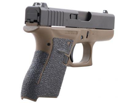 Talon Grips Rubber Pistol Grip for Glock 42, Black - 108R