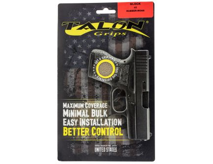 Talon Grips Rubber Pistol Grip for Glock 42, Moss - 108M