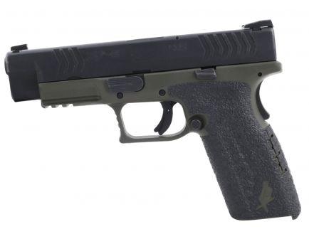 Talon Grips Rubber Pistol Grip for Springfield XD Full Size 9mm/.357/.40, Black - 202R